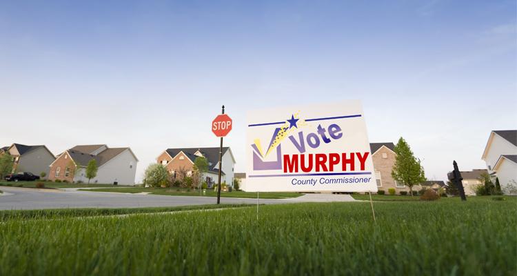 It's Election Sign Season. Are You Ready?