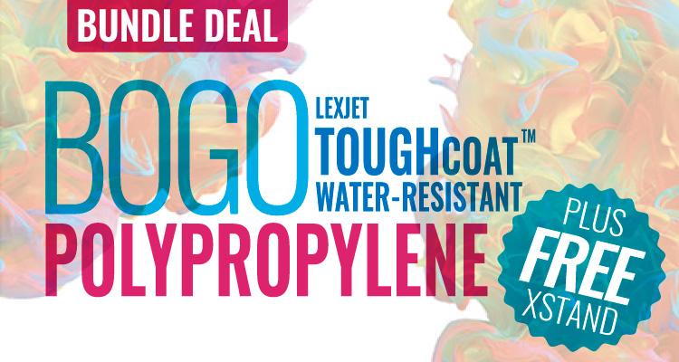 Thursday Only: Get a BOGO Banner Bundle Deal