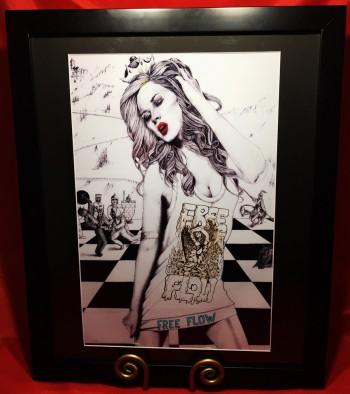Framed Art 20x16 By Lucky Da Queen