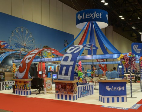 For LexJet, ISA Sign Expo Truly Was a Really Big Show