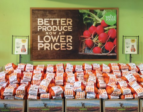 Whole Foods Takes a Fresh Approach on In-Store Signage