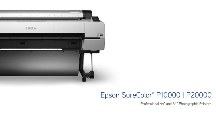 The All New Epson P-Series Printers. Be One of the First.