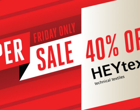 Friday Only: Save 40% Off Any HEYtex Product