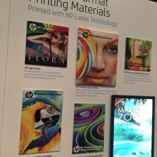 A variety of substrates from HP Large Format Media