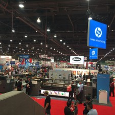 So much going on at the SGIA Expo in Vegas!