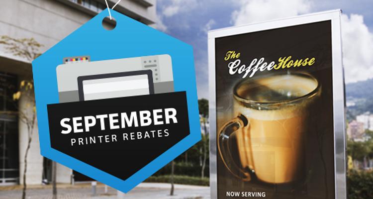 Big September Savings on Canon, Epson & HP Printers