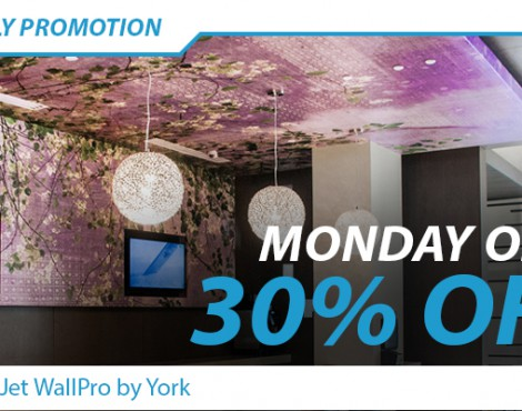 Monday Only: Save 30% on Select LexJet WallPro™ by York