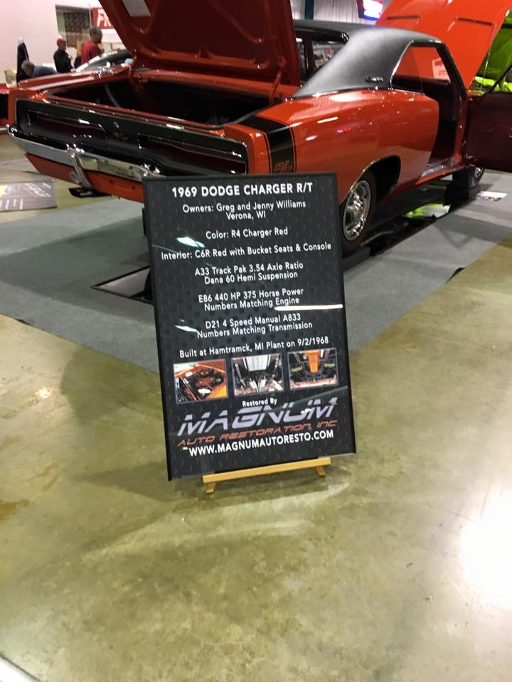 Illinois Company Revs Up Custom Car Show Signs LexJet Blog - Car show display boards