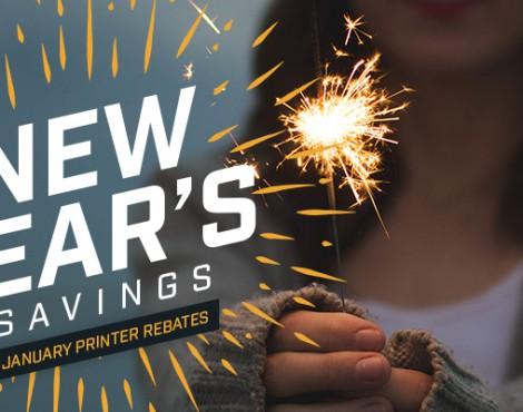 New Year, Fresh Savings on Printers