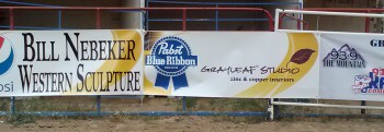 rodeo banner