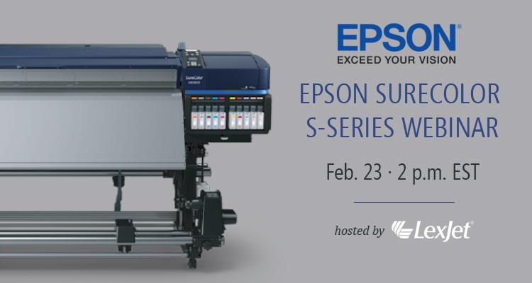 Printer Webinar: The Latest on Epson's SureColor S-Series