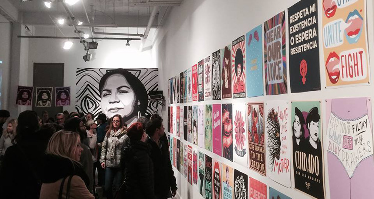 Seattle Exhibit Gives March Posters a Worthy Display