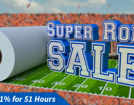 Super Roll Sale! Save 51% for 51 Hours on Tons of Products
