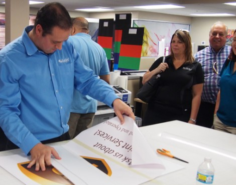 UPS Store Owners Visit LexJet's Experience Center