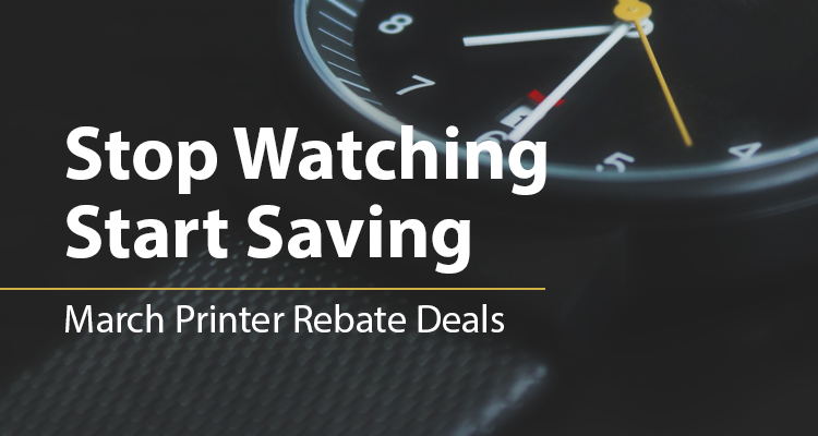 Time Is on Your Side with These Deals on Brand New, Faster Printers