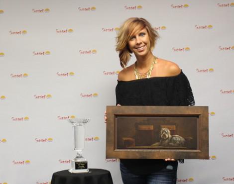 National Sunset Print Award Winner Christie Newell Visits Sarasota