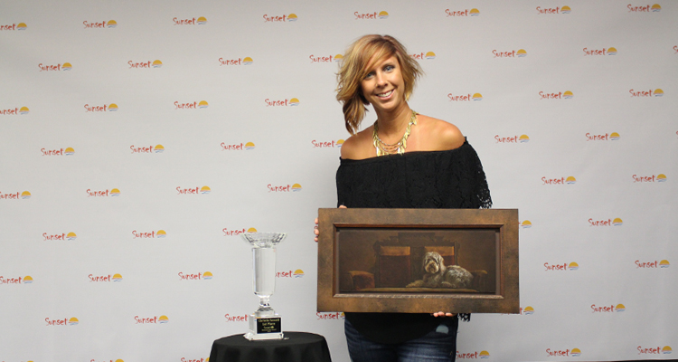 National Sunset Print Award Winner Christie Newell Visits Sarasota