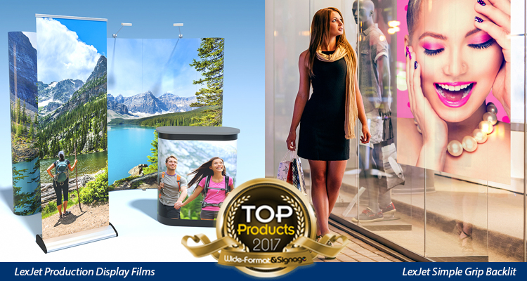 LexJet Wins Big in the Wide-Format & Signage 2017 Reader's Choice Top Product Awards