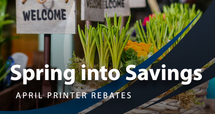 April Savings: Tons of Fresh Printer Rebates and Deals
