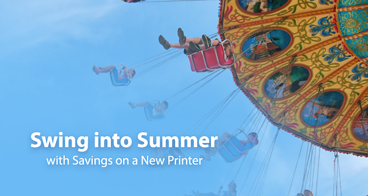 Here Comes the Sun … and Lots of June Printer Rebates