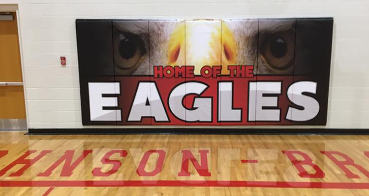 Adding School Spirit to Gym Mats with HEYtex Vinyl