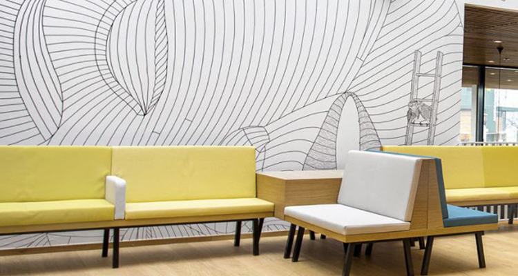 Vescom Digital Media: Wallcovering Line Now Available at LexJet