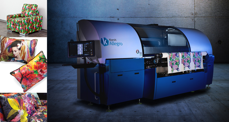 Print to Fabric in One Step with Kornit Allegro