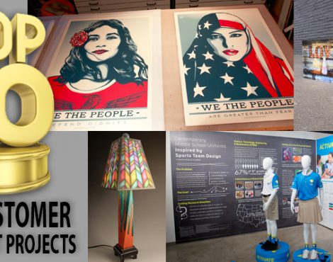 Best of 2017: 10 Awesome Customer Print Projects