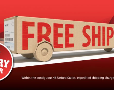 Ring in 2018 with Free Ground Shipping on All Orders!