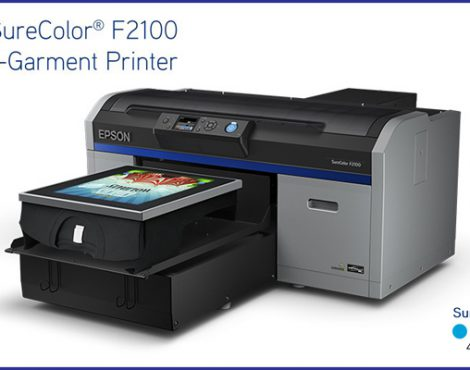 Introducing the EPSON SureColor F2100 Direct-to-Garment Printer