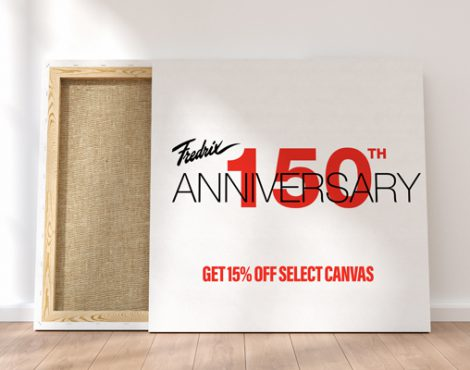 Celebrate Fredrix's 150th Anniversary with 15% Off