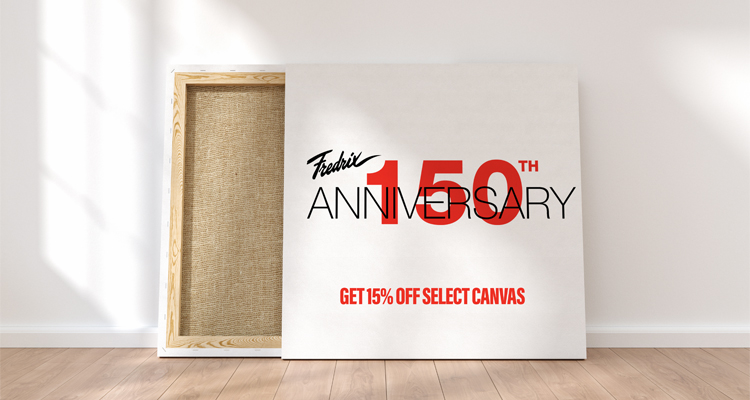 Celebrate Fredrix's 150th Anniversary with 15% Off