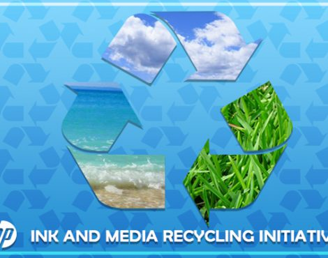 HP – Take it Back! Ink and Media Recycling Initiatives