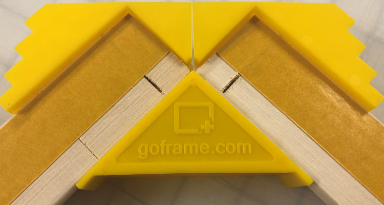 GOframe Stretcher Bars Easily Turn Memories into Art