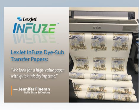 """InFuze® Transfer Paper """"Well Above"""" the Competition, Customers Say"""
