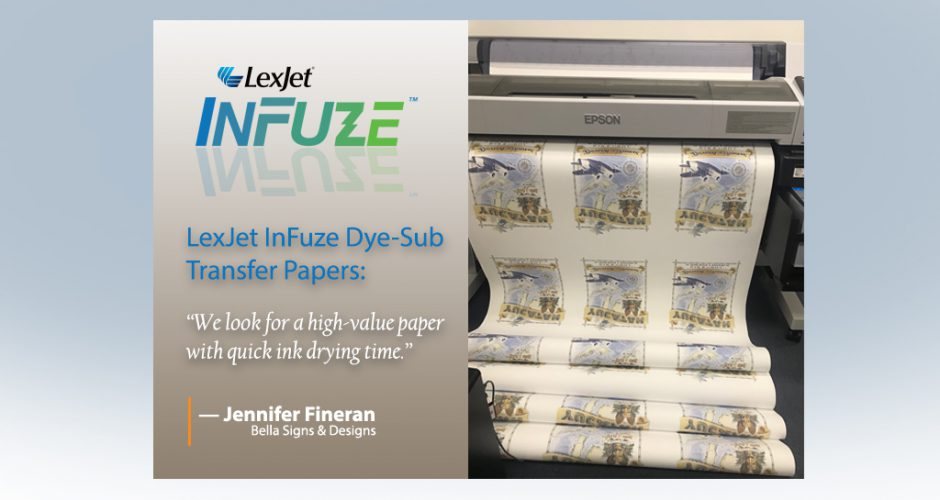 "InFuze® Transfer Paper ""Well Above"" the Competition, Customers Say"