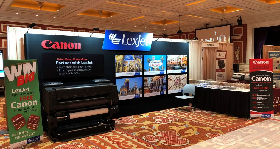 LexJet Plays a Full House at The UPS Store Convention in Vegas