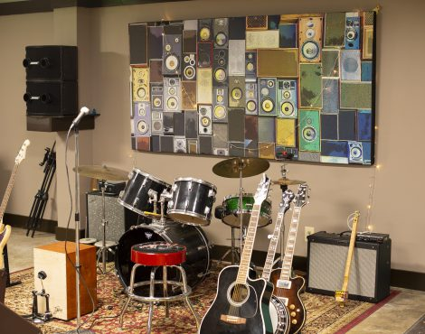 Listen Up: Before & After Acoustic Sound Panels + EnduraFab