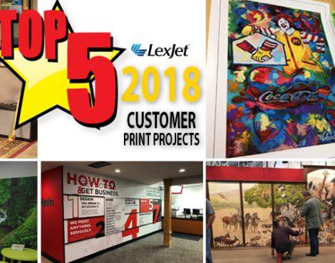 5 Creative & Inspiring 2018 Customer Projects