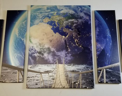 Discover the All-new Fredrix Metallic Canvases at WCAF