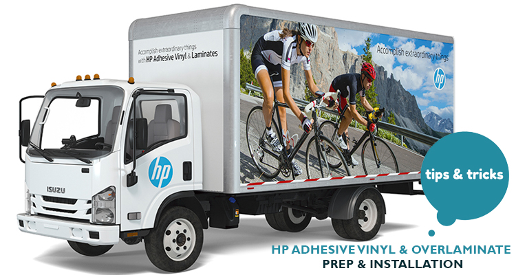 FREE Downloads: Tips for Installing HP Adhesive Vinyl