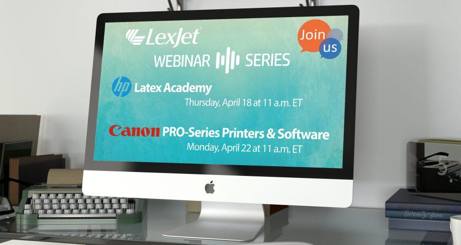Sign up for a Free April Printer Webinar