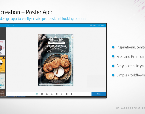 Print More Polished Posters with HP Application Center & Paper Options