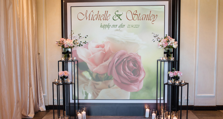 How to Customize Weddings with Wide-Format Print