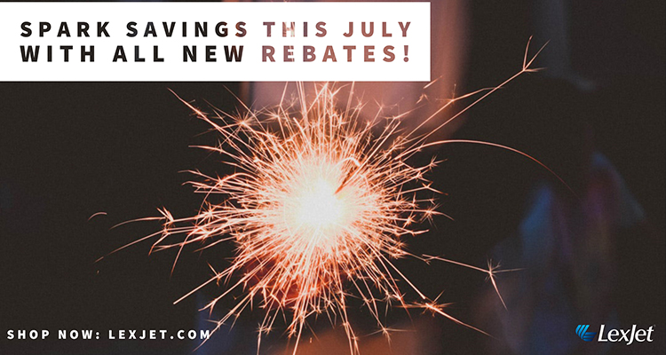 These July Rebates are HOT!