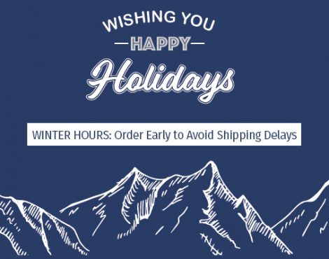 Winter Holiday Hours Are Coming!
