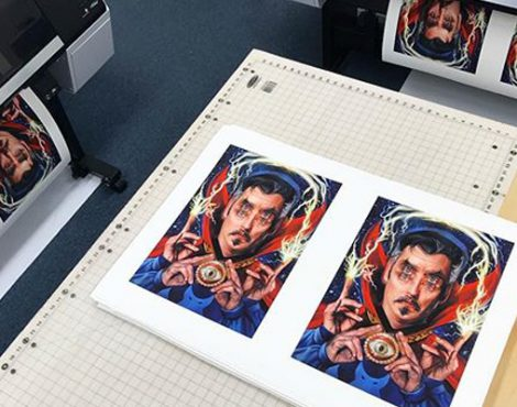Real Color Design Partners with EPSON for Marvel-ous Results