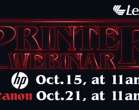 It's Time to Learn and Earn with October Printer Webinars