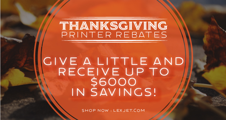 Dig in and Save with these November Printer Rebates