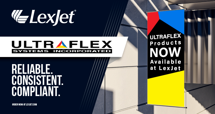 NOW AVAILABLE: Find Ultraflex Products at LexJet